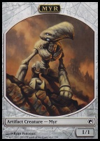 Scars of Mirrodin: Myr Token