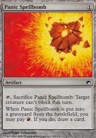 Scars of Mirrodin Foil: Panic Spellbomb
