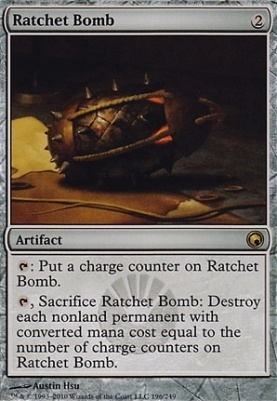 Scars of Mirrodin: Ratchet Bomb