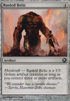 Scars of Mirrodin: Rusted Relic