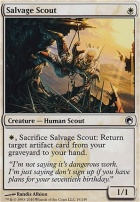 Scars of Mirrodin Foil: Salvage Scout