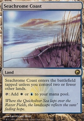 Scars of Mirrodin: Seachrome Coast