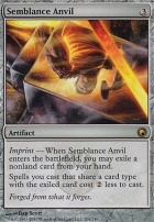 Scars of Mirrodin Foil: Semblance Anvil