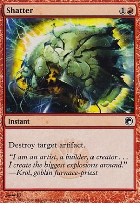 Scars of Mirrodin: Shatter
