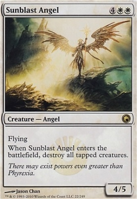 Scars of Mirrodin Foil: Sunblast Angel