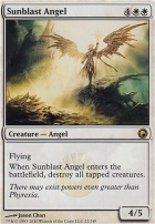 Scars of Mirrodin Foil: Sunblast Angel