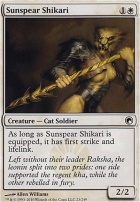 Scars of Mirrodin Foil: Sunspear Shikari