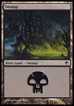 Scars of Mirrodin: Swamp (238 A)