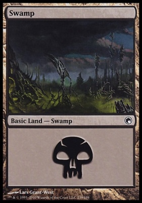 Scars of Mirrodin: Swamp (239 B)