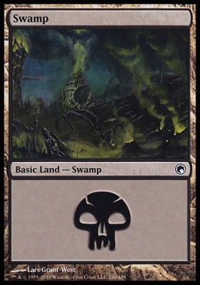 Scars of Mirrodin: Swamp (240 C)