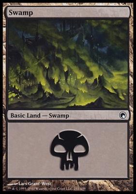 Scars of Mirrodin: Swamp (241 D)