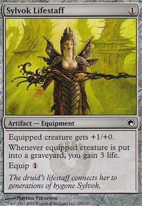 Scars of Mirrodin: Sylvok Lifestaff