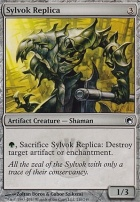 Scars of Mirrodin Foil: Sylvok Replica