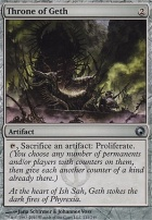Scars of Mirrodin Foil: Throne of Geth
