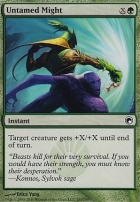 Scars of Mirrodin Foil: Untamed Might