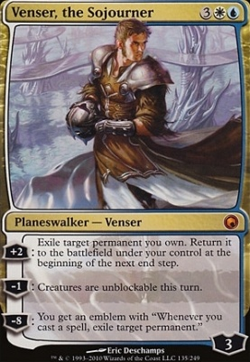 Scars of Mirrodin: Venser, the Sojourner