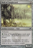 Scars of Mirrodin Foil: Wall of Tanglecord