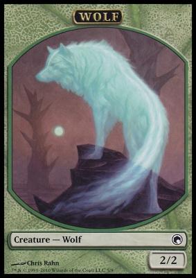 Scars of Mirrodin: Wolf Token