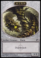 Scars of Mirrodin: Wurm Token (Deathtouch)