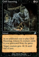 Scourge Foil: Chill Haunting