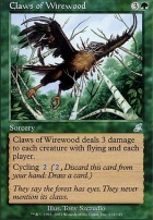 Scourge Foil: Claws of Wirewood