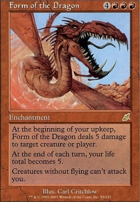 Scourge Foil: Form of the Dragon