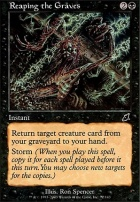 Scourge Foil: Reaping the Graves