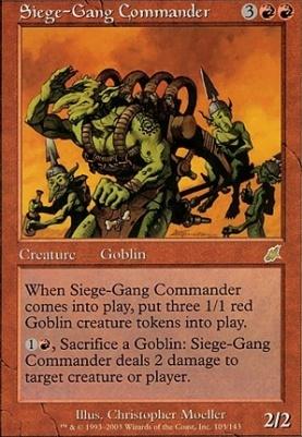 MTG Siege-Gang Commander Scourge