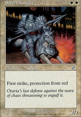 Scourge Foil: Silver Knight