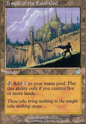 Scourge: Temple of the False God