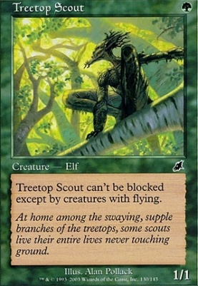 Scourge Foil: Treetop Scout