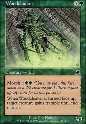 Scourge Foil: Woodcloaker