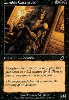 Scourge Foil: Zombie Cutthroat