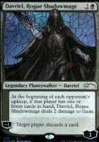 Secret Lair: Davriel, Rogue Shadowmage (Foil)