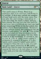 Secret Lair: Forest (258 - Foil)
