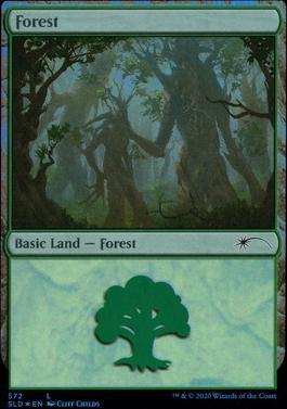 Secret Lair: Forest (572 - Foil)