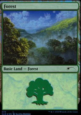 Secret Lair: Forest (573 - Foil)