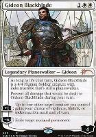 Secret Lair: Gideon Blackblade (Foil)