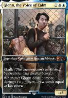 Secret Lair: Glenn, the Voice of Calm (Foil)