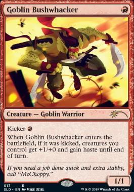 Secret Lair: Goblin Bushwhacker
