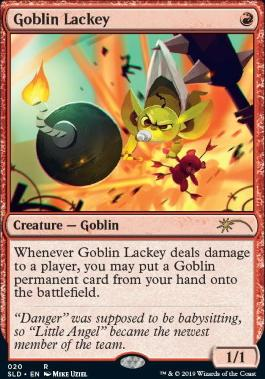 Secret Lair: Goblin Lackey