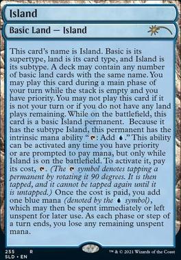 Secret Lair: Island (255 - Foil)