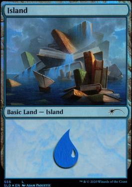 Secret Lair: Island (555 - Foil)