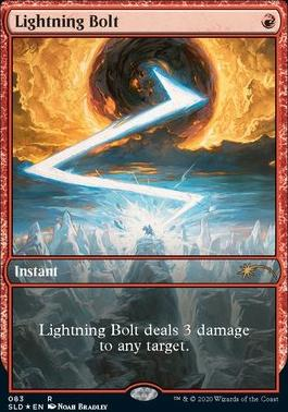 Secret Lair: Lightning Bolt (083 - Foil)