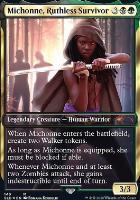 Secret Lair: Michonne, Ruthless Survivor (Foil)