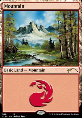 Secret Lair: Mountain (106 - Foil)