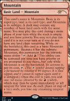 Secret Lair: Mountain (257 - Foil)
