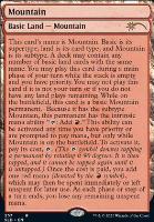 Secret Lair: Mountain (257 - Non-Foil)