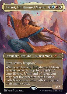 Secret Lair: Narset, Enlightened Master (Foil)