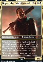 Secret Lair: Negan, the Cold-Blooded (Foil)